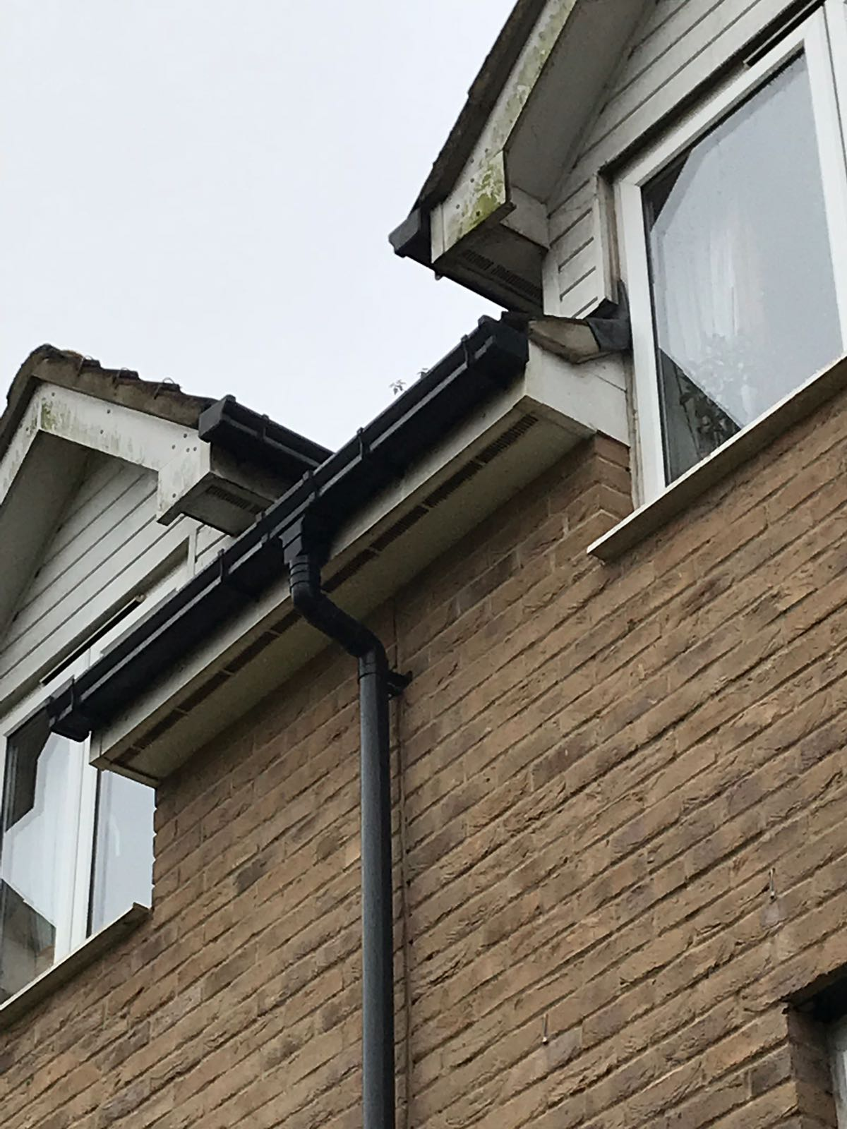 Dirty Guttering and Fascias