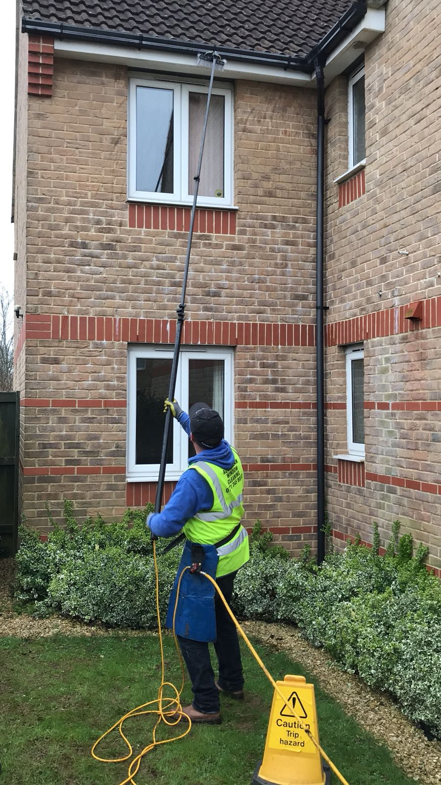 Cleaning Fascias